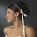 Graceful White or Ivory Pearl Greek Stefana Wedding Crowns 8015