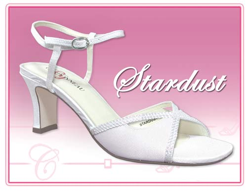 Stardust - Sequence and Sparkles - Dyeable Party Shoe 6003