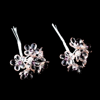 Pink Crystal Bouquet Jewels BQ 284