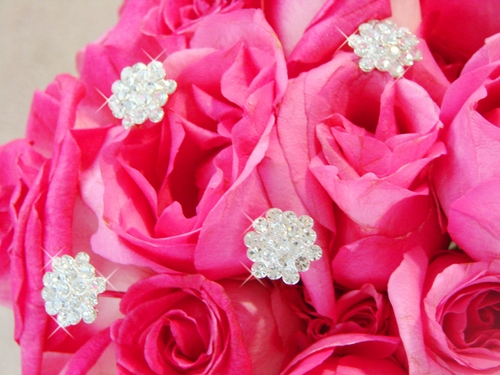 Crystal Cluster Bouquet Jewelry