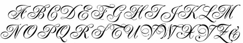 Crystal Rhinestone Initial Bouquet Letters