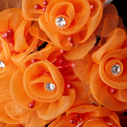 Orange Flower Bunch 7016