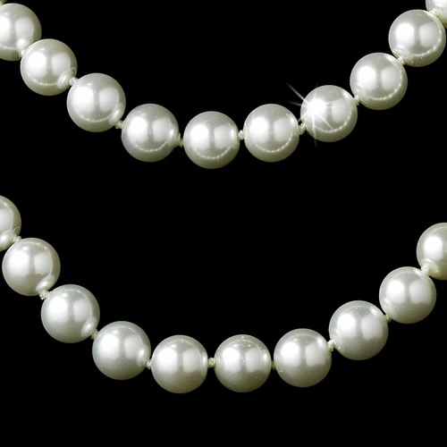 Necklace 8324 White