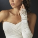 Elegant Fingerless Bridal Glove GL 9053 E