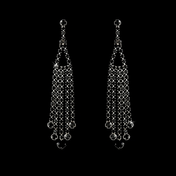 * Earring 20426 Black***Discontinued***