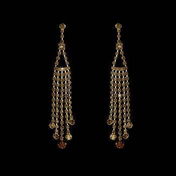 * Earring 20426 Gold Brown
