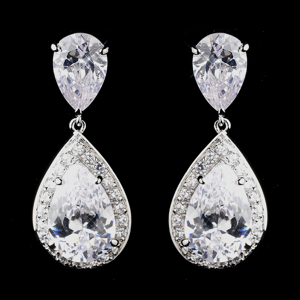 bridal jewellry earrings for weddings