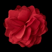 * Rose Red Flower Hair Clip 9941