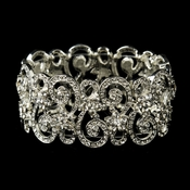 Victorian Floral Ambiance Cuff Bracelet 10519