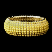 Gold Yellow Stretch Bracelet 8802