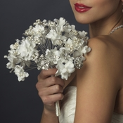 Ivory and White Pearl Bouquet 401
