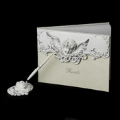 Angel Pen Set 1817 & Guest Book 1815