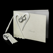Ring and Heart Pen Set 1821 & Guest Book 1819