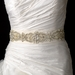 * Faux Pearl Rhinestone & Bugle Beaded Wedding Sash Bridal Belt  11