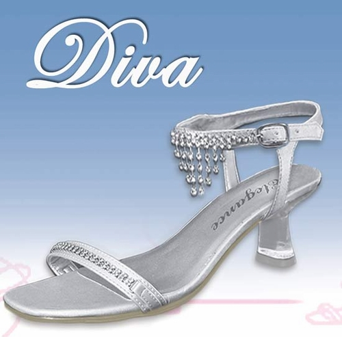 * Diva Formal Evening Shoes ( Insole is lifting - Slight Irregular )