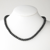 Black Necklace 7615 *1Left*