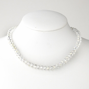 Clear Necklace 7615