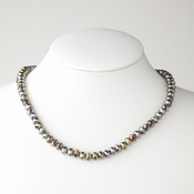 Smoked AB Necklace 7615