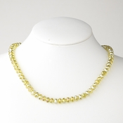 Yellow Necklace 7615