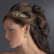 Light Gold Clear Headpiece 8347