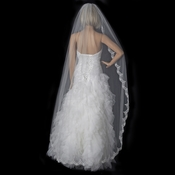 Bridal Wedding Single Layer Cathedral Length Veil 1610***Discontinued***