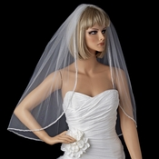 Bridal Wedding Single Layer Elbow Length Veil 1527