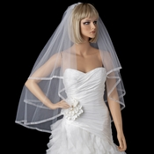 Bridal Wedding Double Layer Fingertip Length Veil 2023
