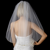 Bridal Wedding Single Layer Fingertip Length Veil VP 1F Gold