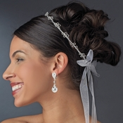 Charming Silver Greek Stefana Wedding Crowns 8014