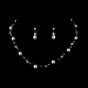 Ivory Child's Necklace Earring Set 7247