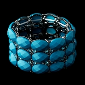 Turquoise Bangle Bracelet 7230