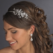 Vintage Side Accented Bridal Vine Headband HP 9983