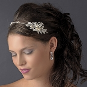 Silver Clear Headband Headpiece 9849