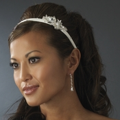 Matte Satin Bridal Headband HP 8263