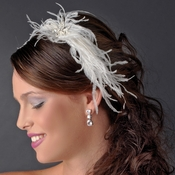 * Feather Fascinator Headband Headpiece 3221