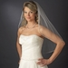 Single Tier Elbow Length Veil with Sparkling Beaded Edge of Accents V 119 1E