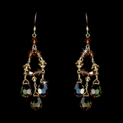 * Earring 8272 Gold Brown