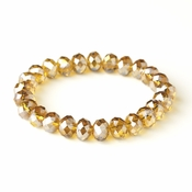 Topaz 10mm Stretch Bracelet 7613