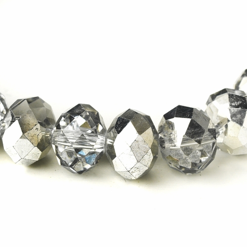 Silver 10mm Stretch Bracelet 7613