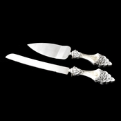 Lovely Victorian Lace Wedding Cake Server Set 449