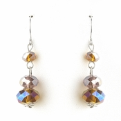 * Topaz AB Dangle Earring Set 7619