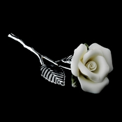 Porcelain White Rose***Discontinued***