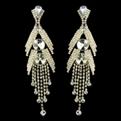 Gold Clear Earring Set 1059