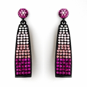 Pink Mix Bell Shaped Dangle Earring Set 8562