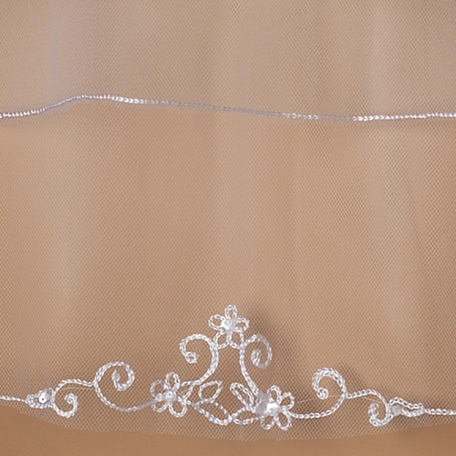 Bridal Wedding Double Layer Child's Communion Veil 111
