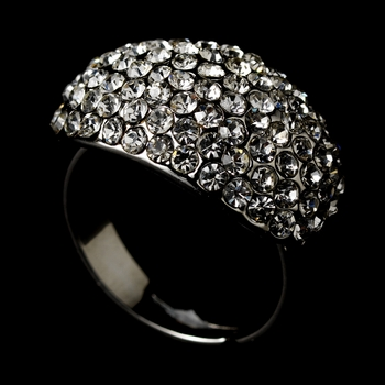 Fabulous Pave Crystal Ring 123