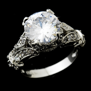 Cubic Zirconia Ring 4085 **Discontinued**
