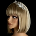 Silver Ivory Headpiece 8029