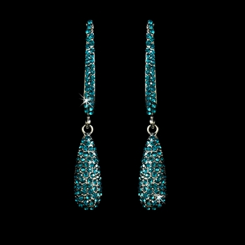Earring 1026 Silver Turquoise