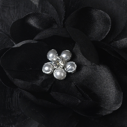 Black Bold Bridal Flower BQ 4908